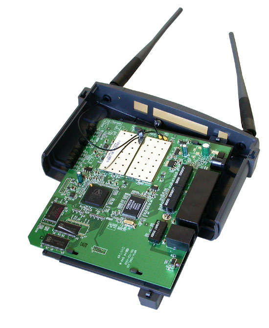 Linksys wrt55ag router Firmware update