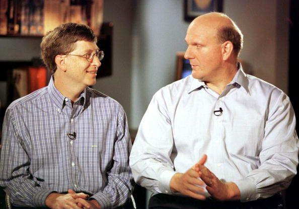 Bill Gates e Steve Ballmer